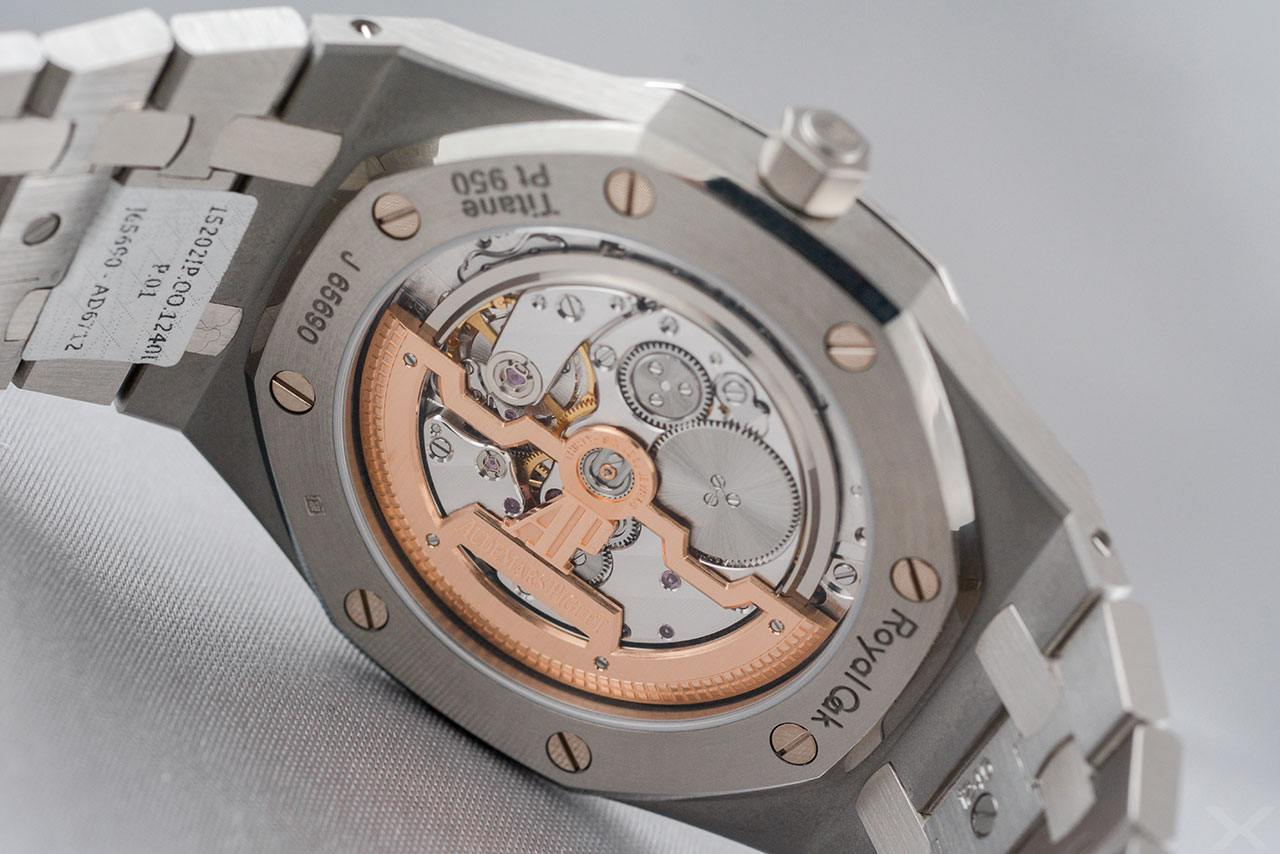 Luxify Review Hands on Audemars Piguet Royal Oak Extra Thin 15202 IP