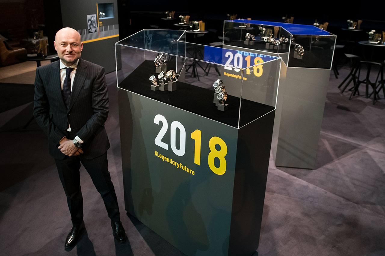 Breitling CEO Georges Kern