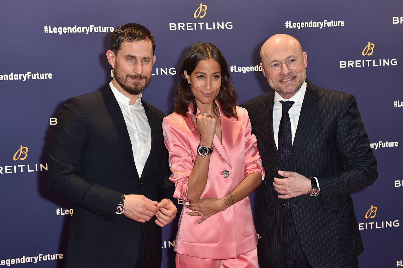 Clemens Schick, Rabea Schif und Georges Kern Breitling Roadshow
