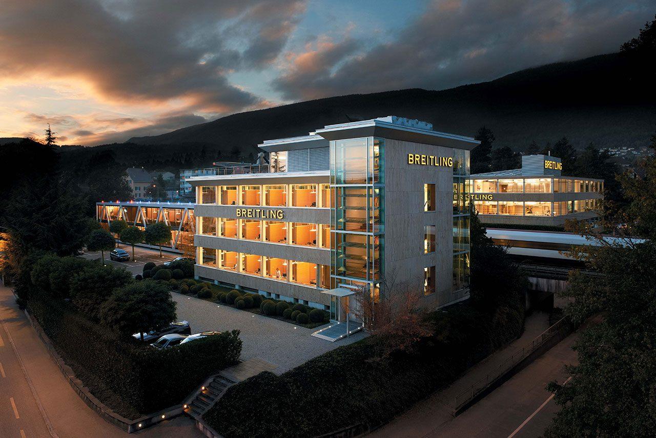Breitling Headquarter Grenchen Schweiz