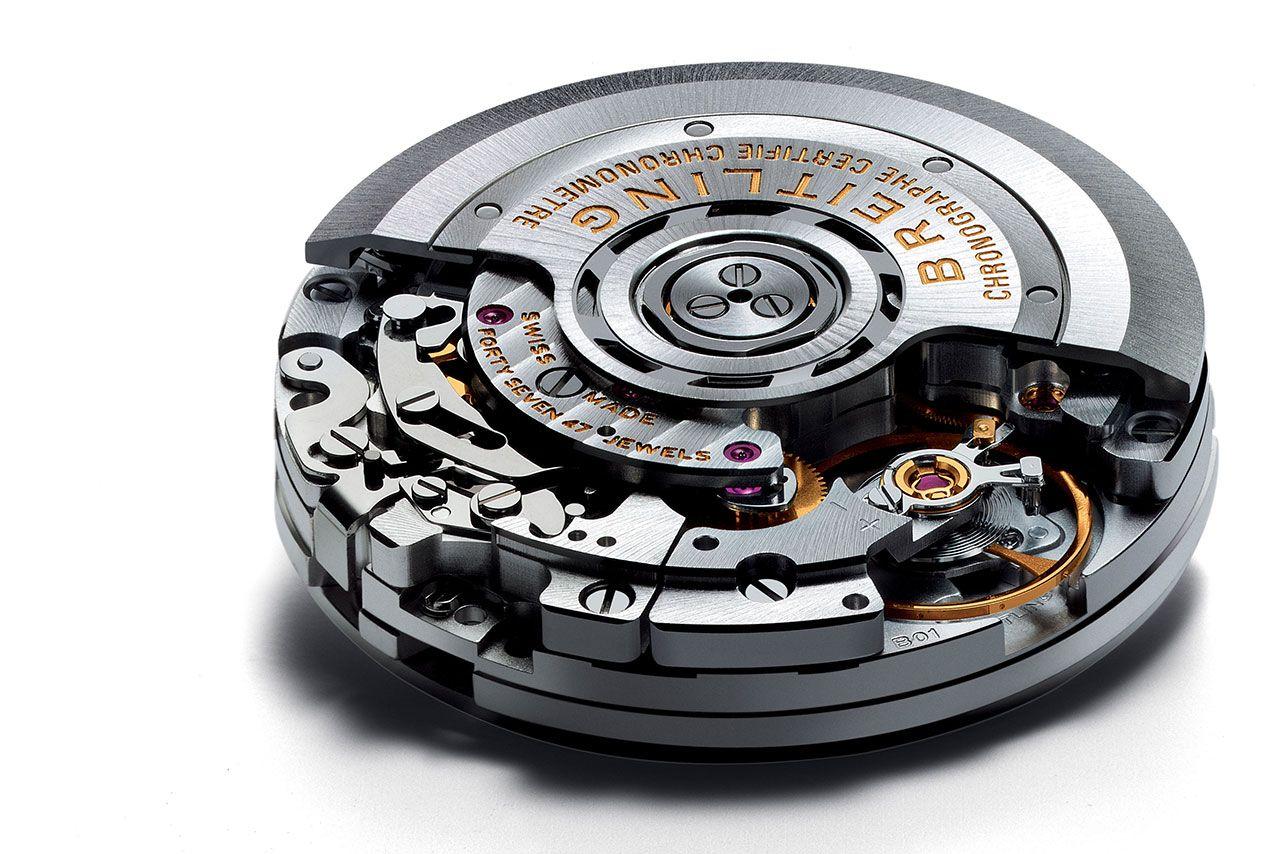 Manufakturkaliber Breitling 01