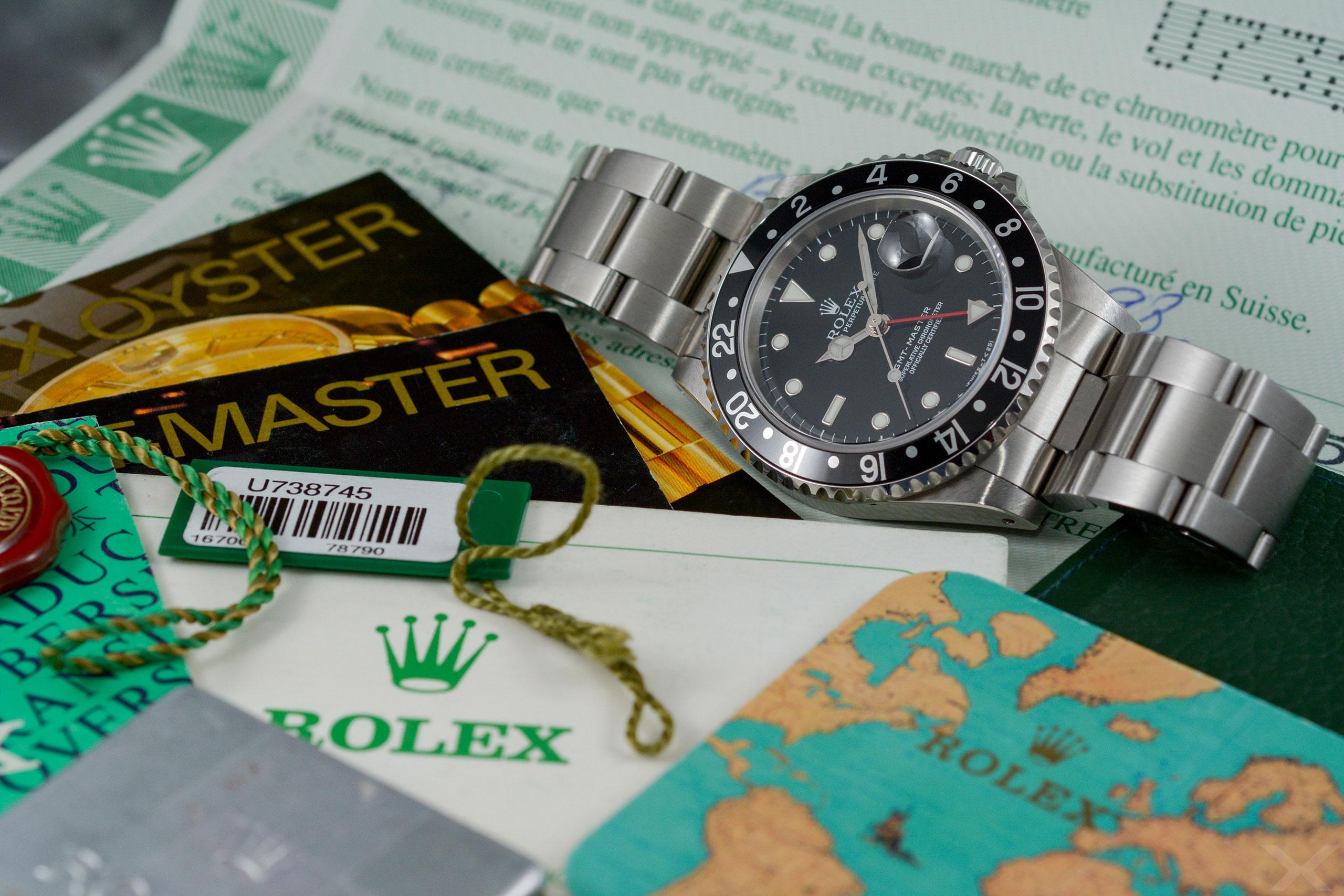 Rolex GMT-Master, Ref. 16700 Dr. Crott Luxify