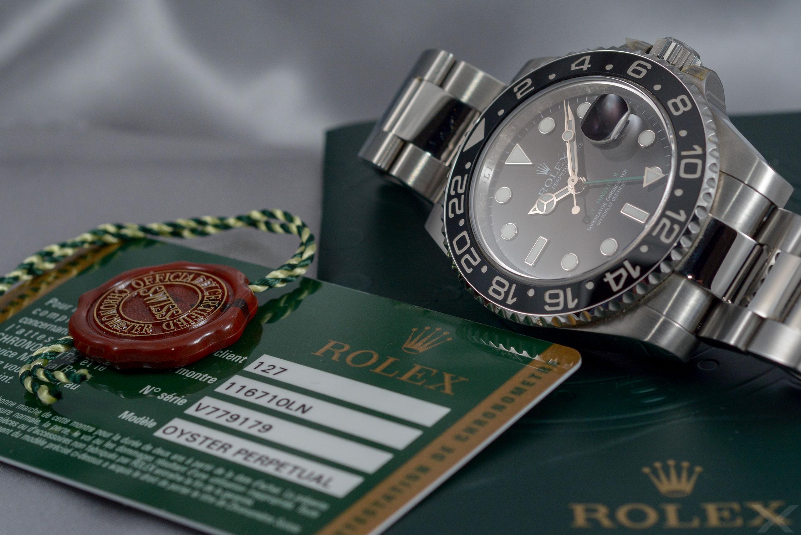 Rolex GMT-Master II, Ref. 116710LN Dr. Crott Luxify