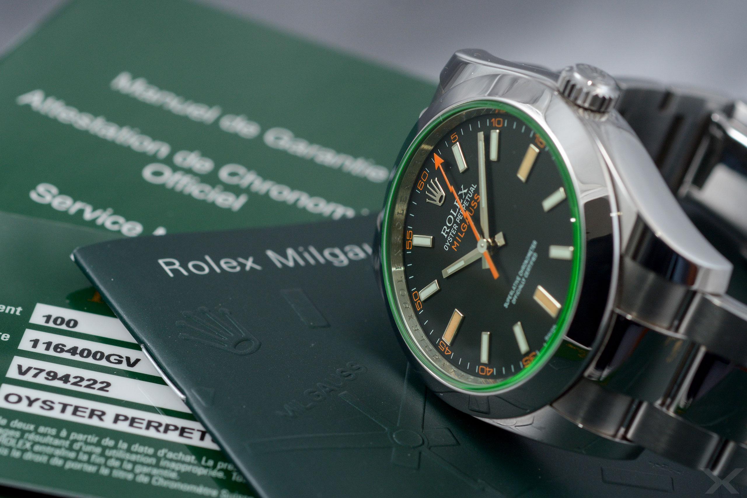 Rolex Milgauss, Ref. 116400GV Dr. Crott Luxify