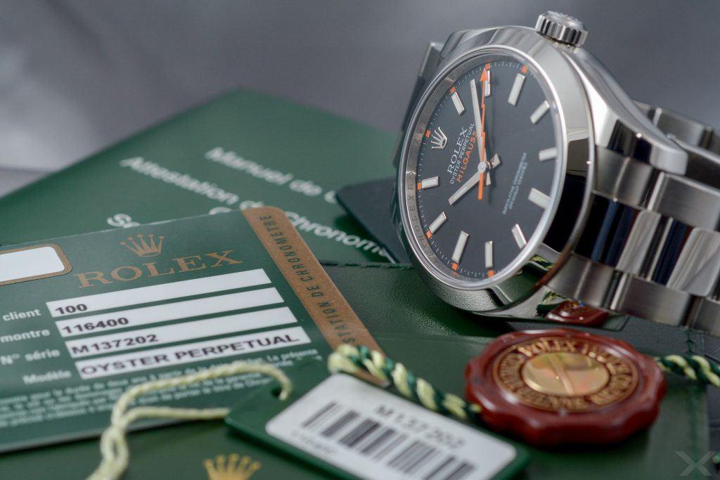 Rolex Milgauss, Ref. 116400 Dr. Crott Luxify