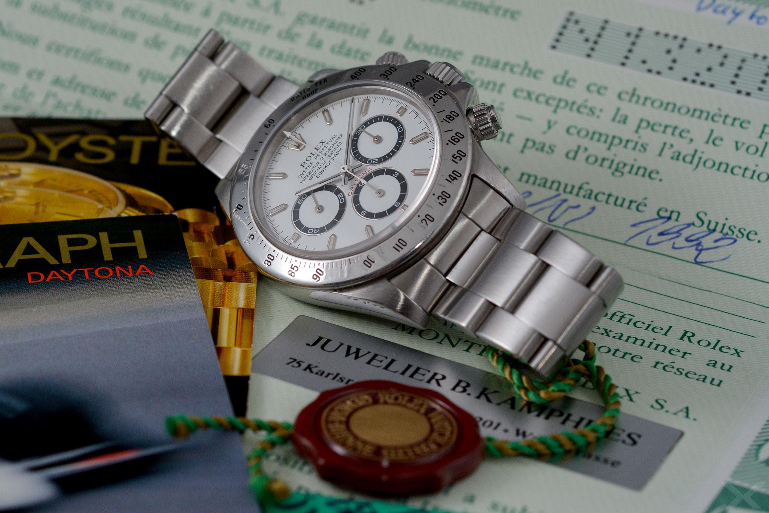 Rolex Daytona, Ref. 16520 Dr. Crott Luxify