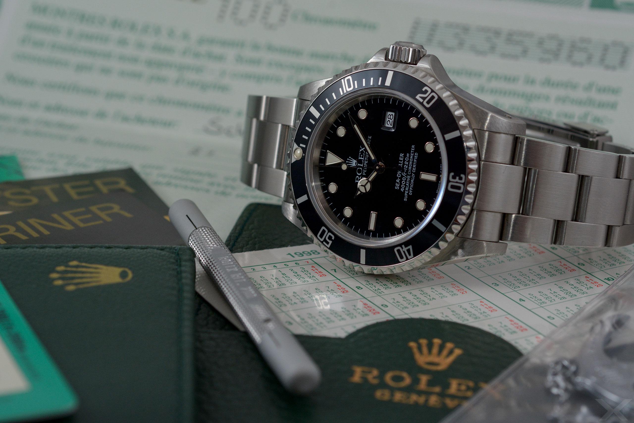 Rolex Sea-Dweller, Ref. 16600 Dr. Crott Luxify