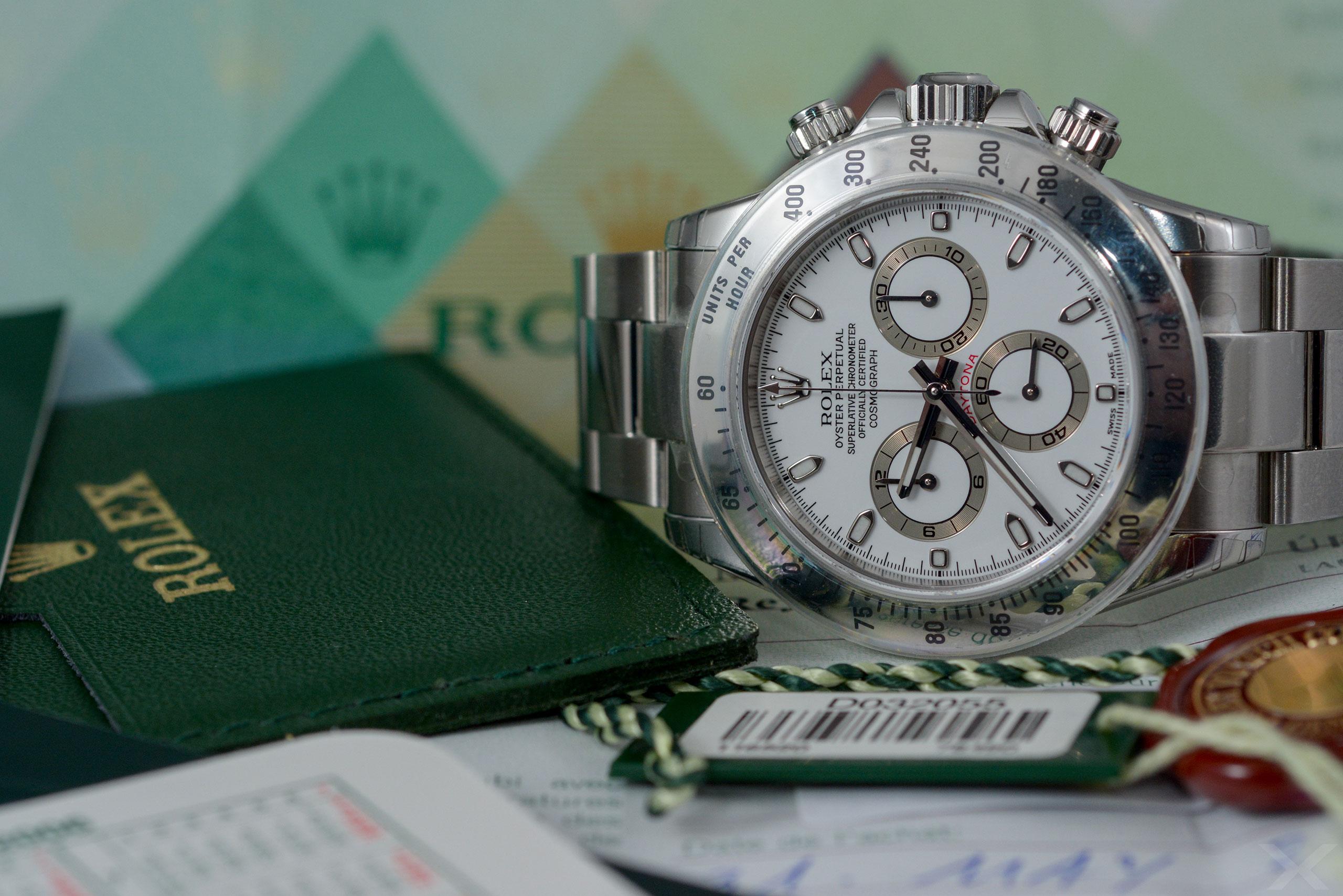 Rolex Daytona, Ref. 116520 Dr. Crott Luxify