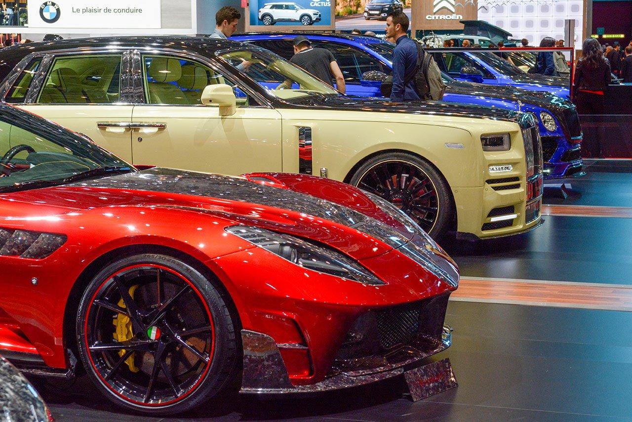 Luxify Autosalon Genf 2018 Mansory
