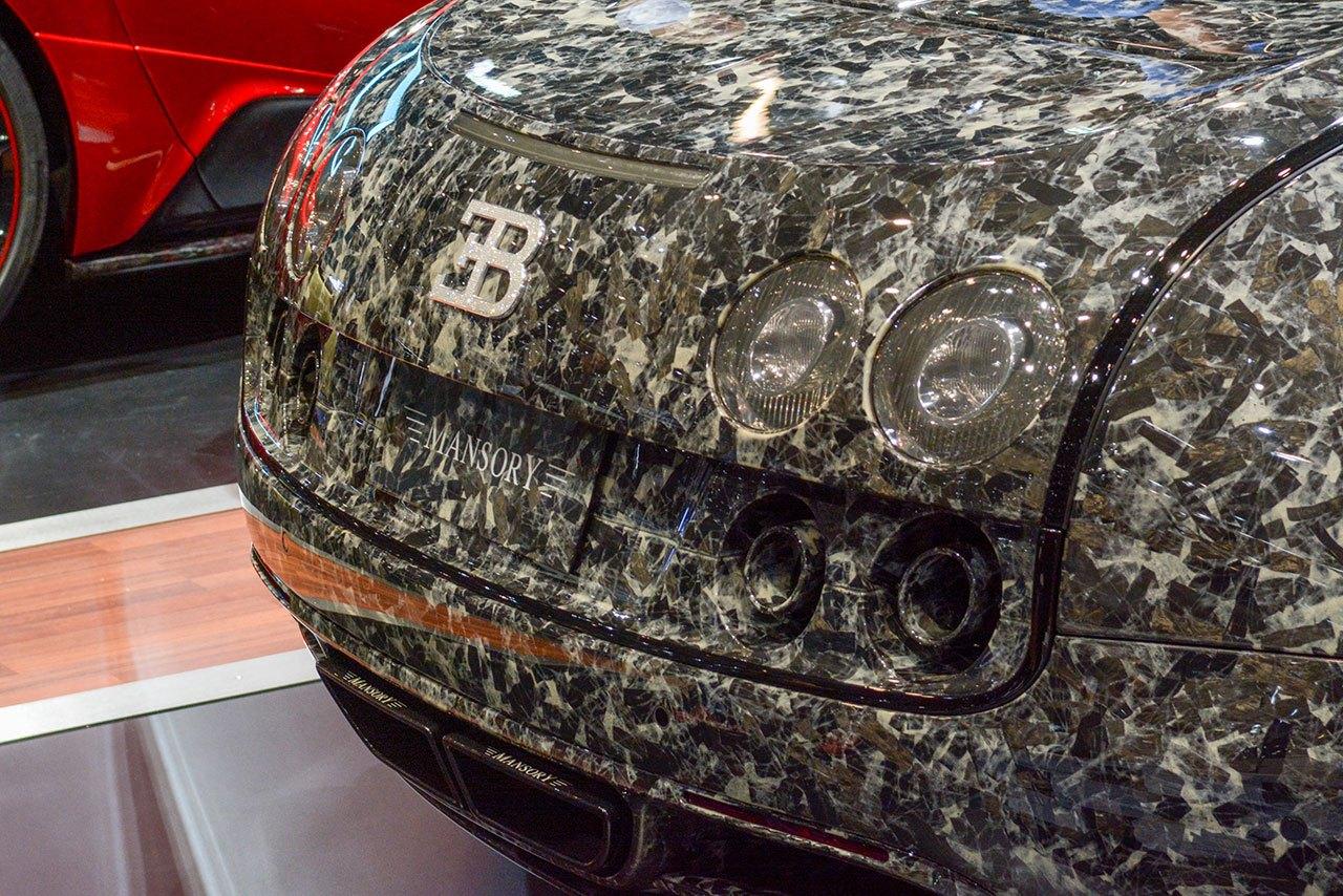 Luxify Autosalon Genf 2018 Mansory Bugatti