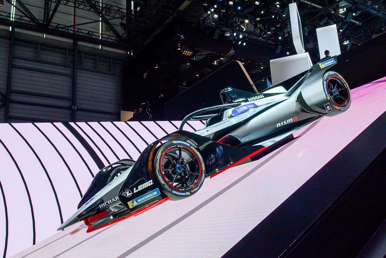 Luxify Autosalon Genf 2018 Nissan Formula E