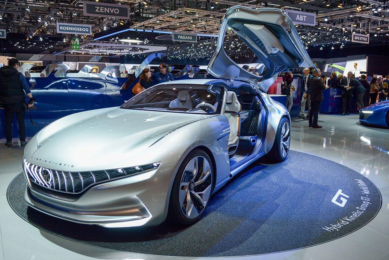 Luxify Autosalon Genf 2018 HK GT Pininfarina
