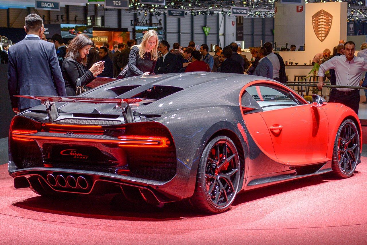 Luxify Bugatti Chiron Sport 2018