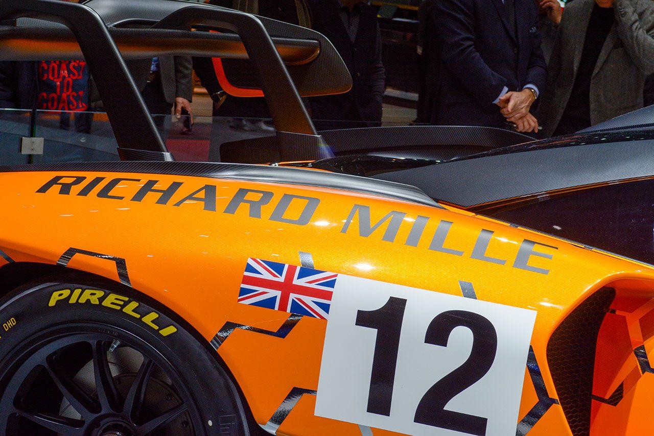 Luxify Autosalon Genf 2018 Richard Mille McLaren