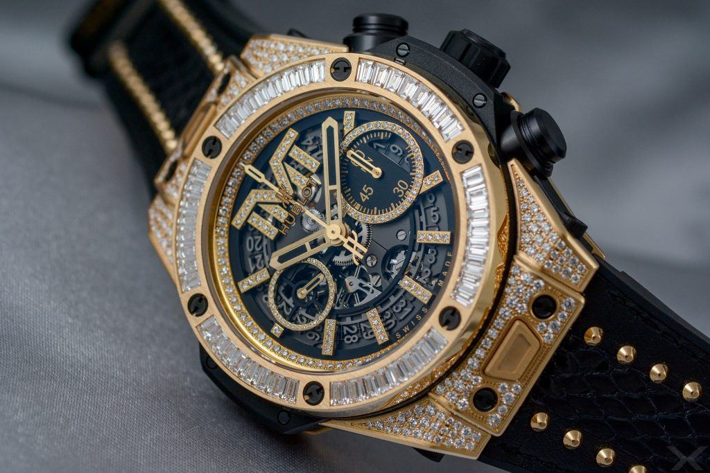 Hublot Big Bang Unico TMT Yellow Gold Jewellery