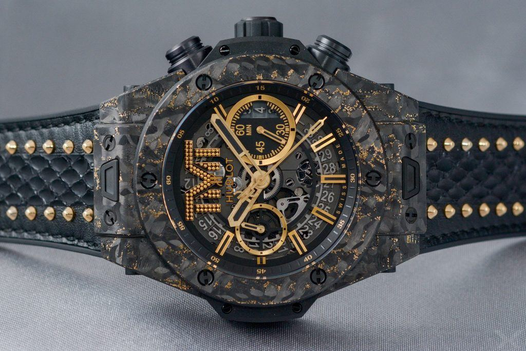 Hublot Big Bang Unico TMT Carbon Gold