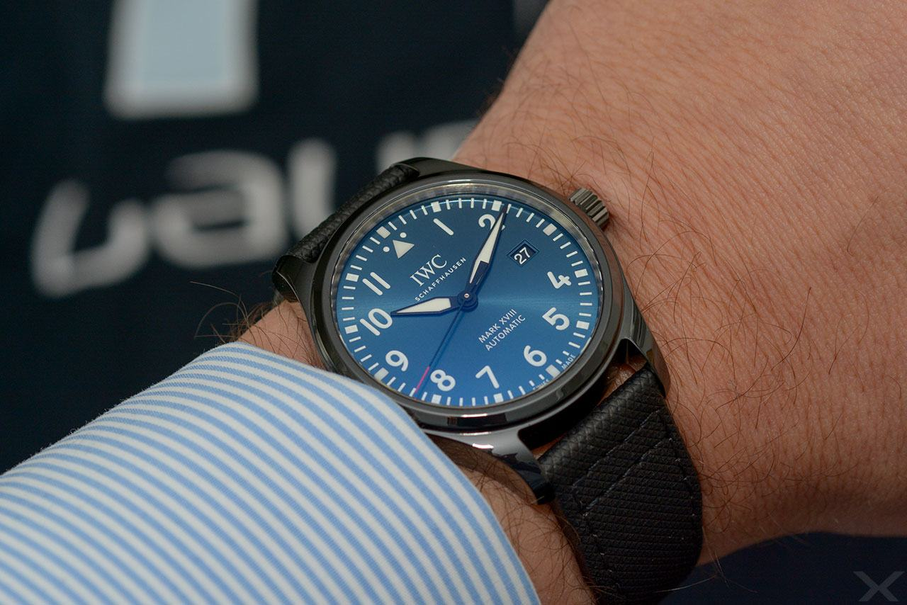 Wristshot IWC Pilot's Watch Mark XVIII Laureus