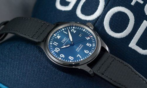 "Hands-on IWC Mark XVIII ""Laureus"" Edition"