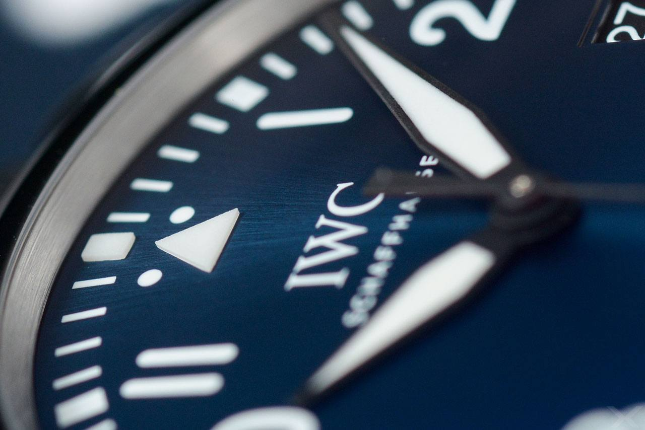 Zifferblatt IWC Mark XVIII Laureus Sport for Good Foundation