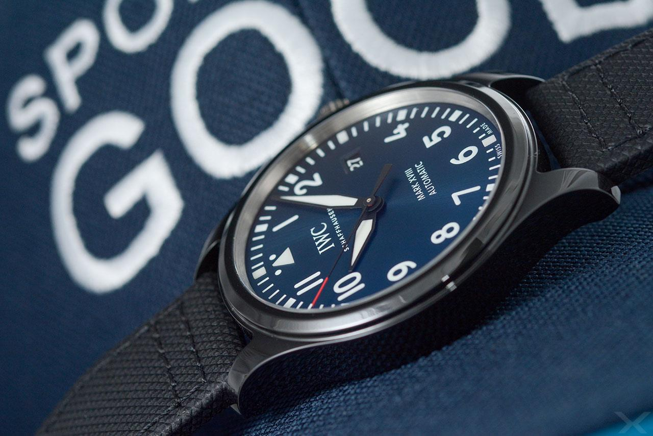 Luxify Review Hands-on IWC Mark XVIII Laureus