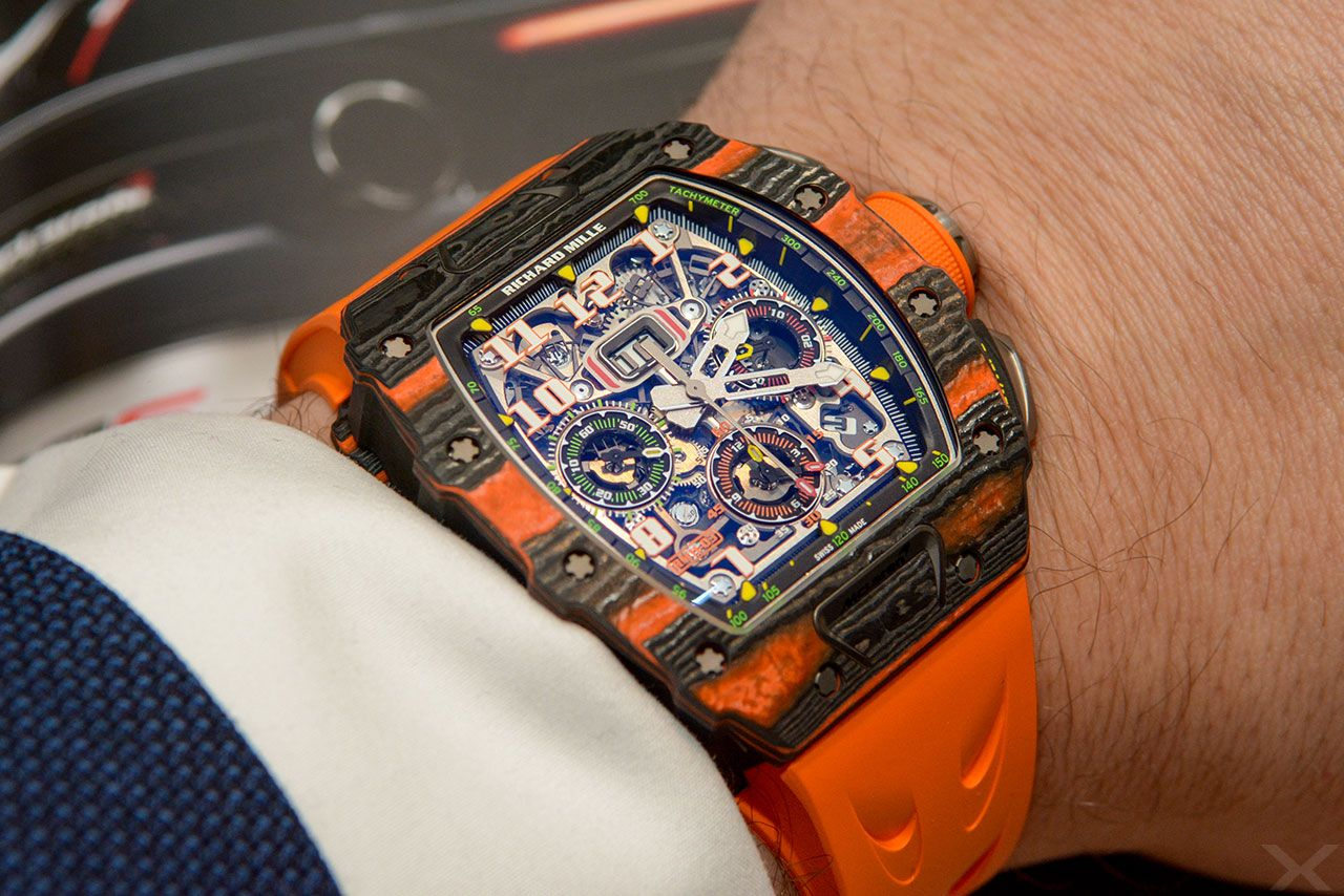 Luxify Review Wristshot Richard Mille RM 11-03 McLaren
