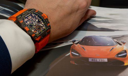 Hands-on Richard Mille RM 11-03 McLaren