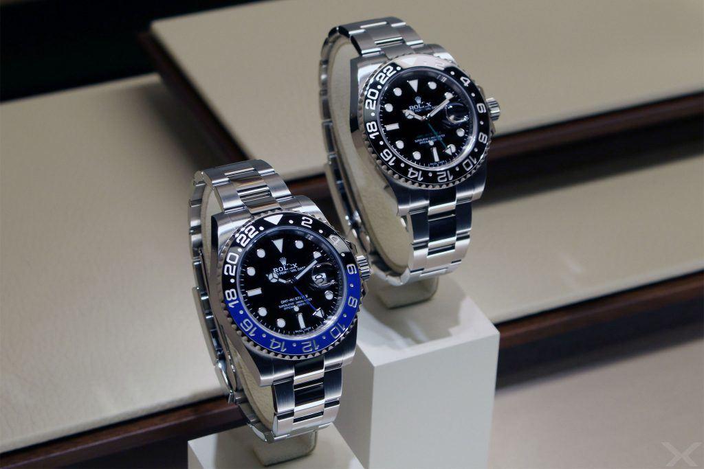 Rolex GMT-Master II, Ref. 116710 LN und BLNR