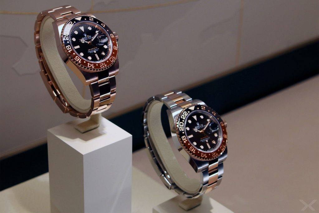 Luxify Baselworld Rolex Everose GMT-Master II