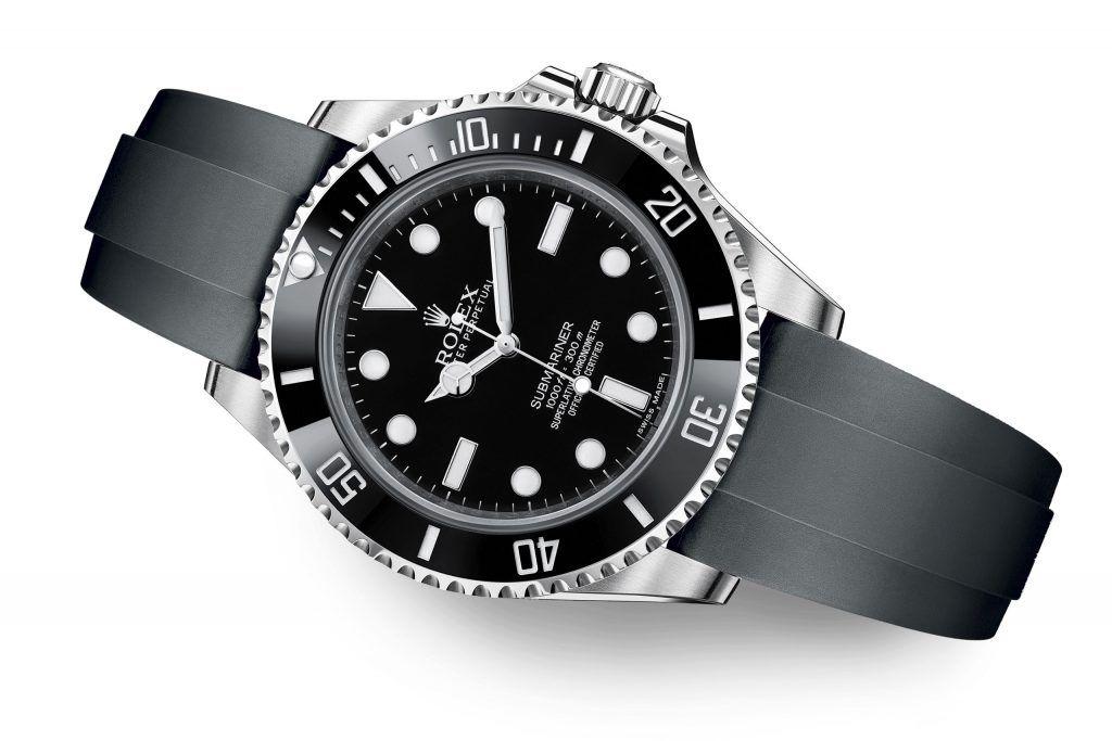 Rolex Submariner 124060 Oysterflex