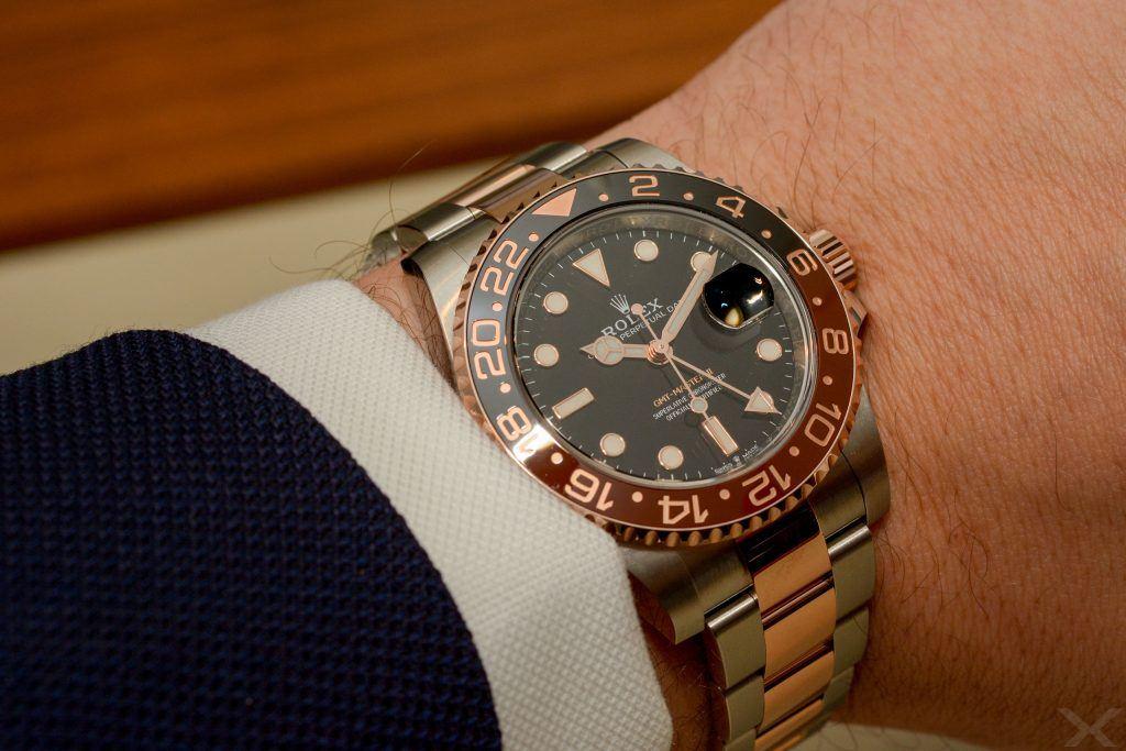 Luxify Review Wristshot Rolex GMT-Master II 126711 CHNR
