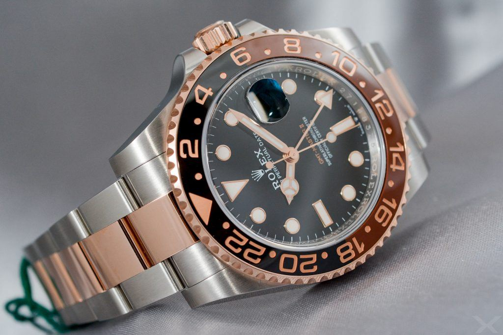 Luxify Review Hands-on Rolex GMT-Master II 126715CHNR Everose