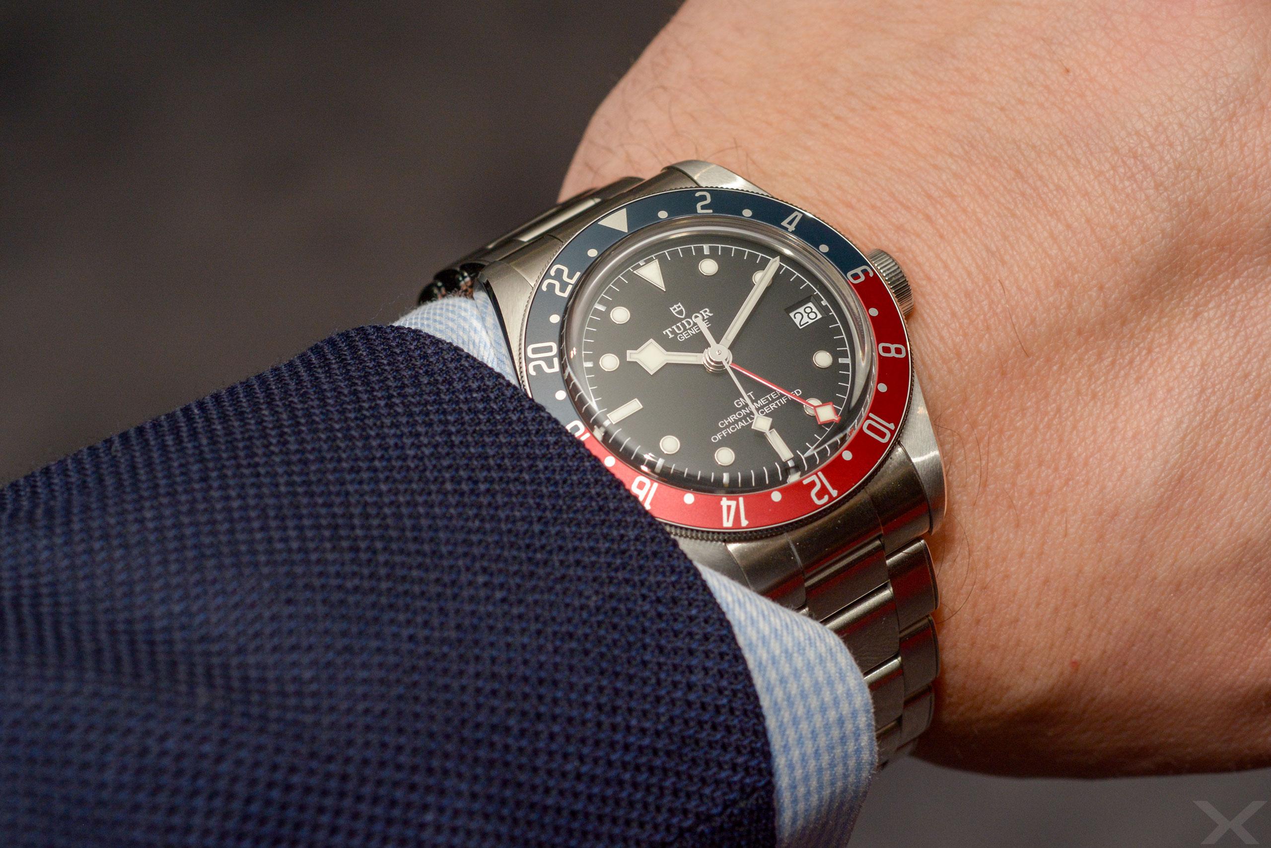 Luxify Wristshot Review Tudor Heritage Black Bay GMT 79830RB