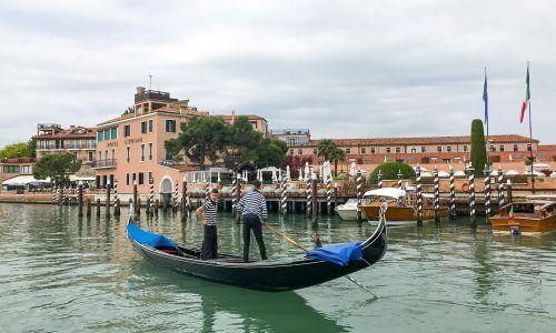 Bellini mit George - zu Gast im Belmond Hotel Cipriani, Venedig