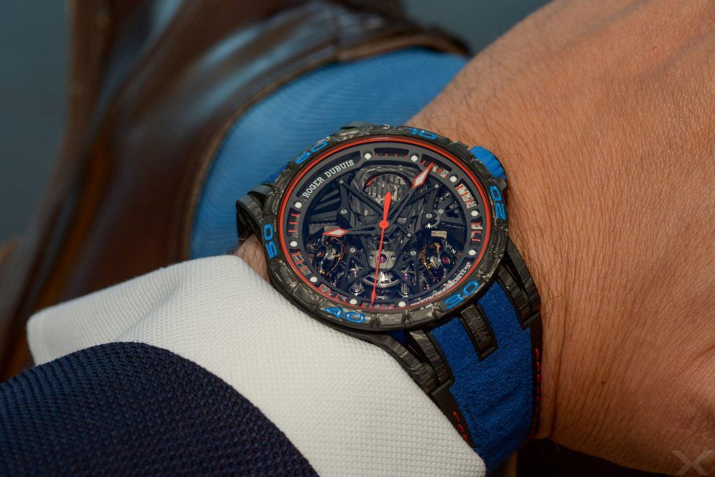 Luxify Review Hands-on Roger Dubuis Excalibur Lamborghini Aventador S