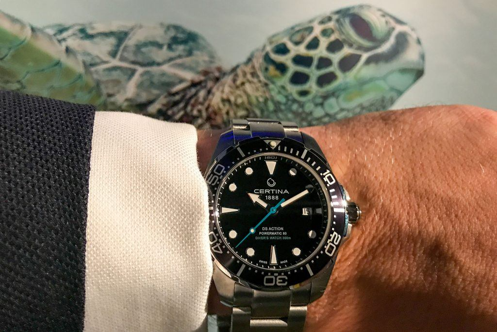 Luxify Certina DS Action Diver Powermatic 80 Sea Turtle Conservancy