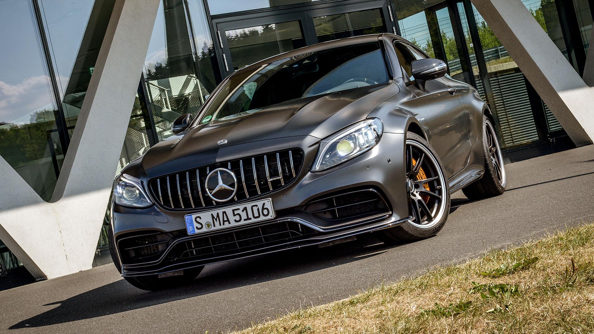 Harte Kerle Test Der 2019er Mercedes Amg C 63 S Modelle