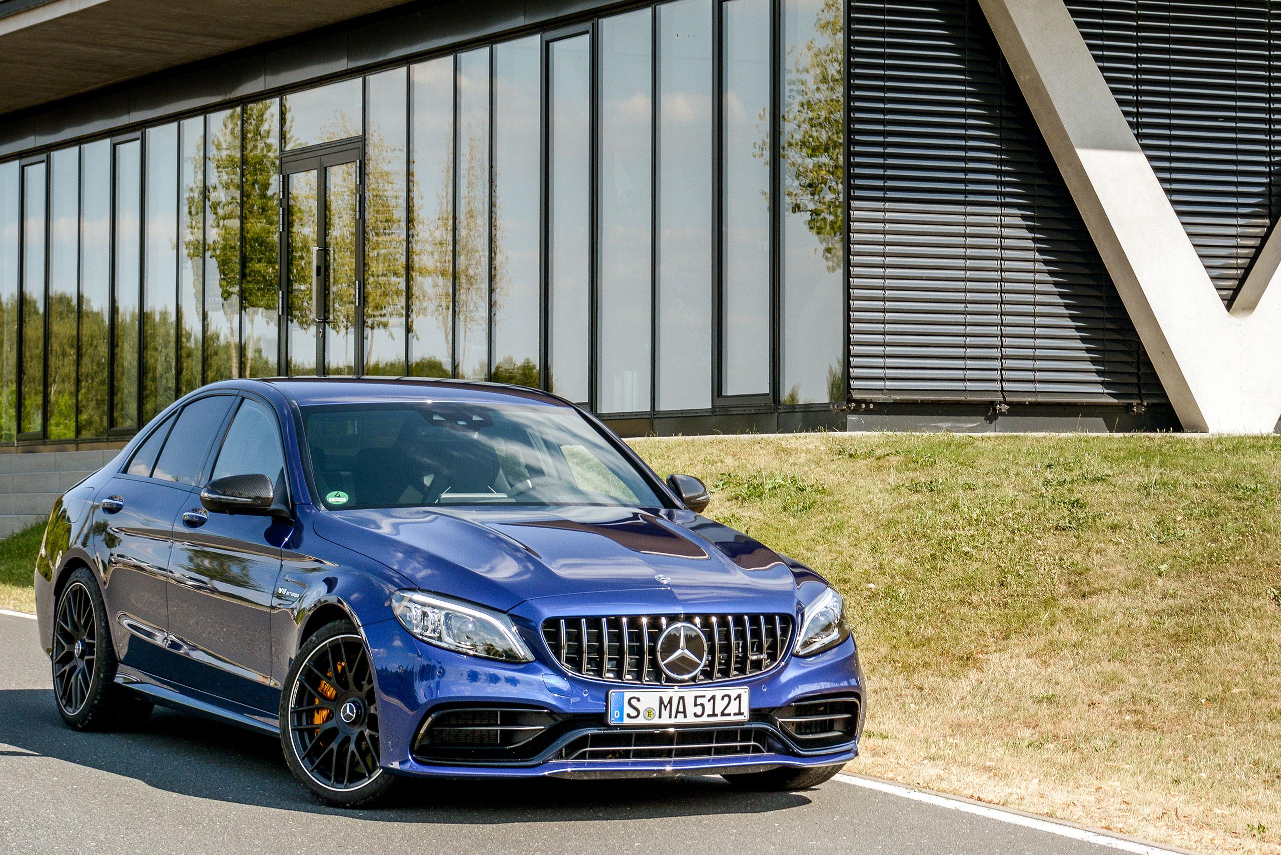 Harte Kerle Test Der 2019er Mercedes Amg C 63 S Modelle Luxify