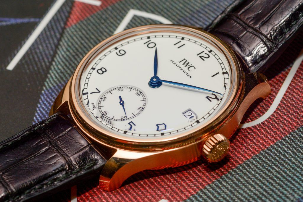 "IWC Portugieser Hand-Wound Eight Days Edition ""150 Years"""