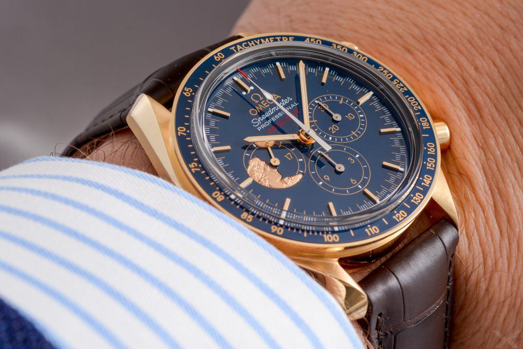 Omega Speedmaster Moonwatch Apollo XVII 45th Anniversary