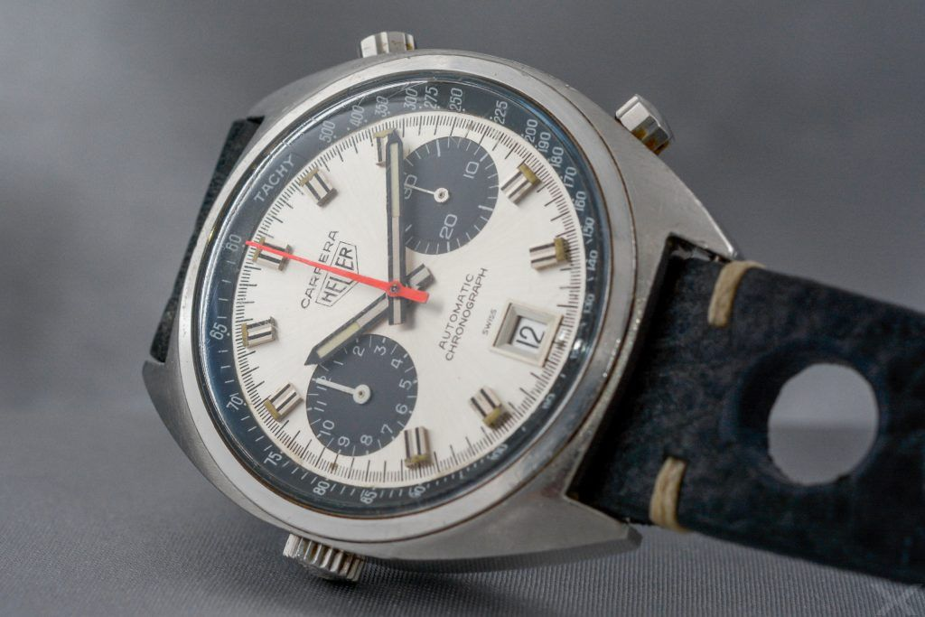 Luxify Review Vintage Heuer Chronograph Carrera Dr. Crott