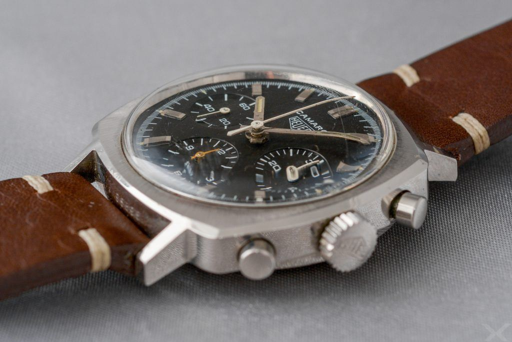 Luxify Review Vintage Heuer Chronograph Camaro Dr. Crott