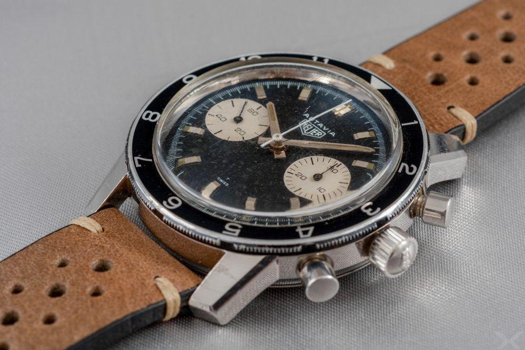 Luxify Review Vintage Heuer Chronograph Autavia Dr. Crott