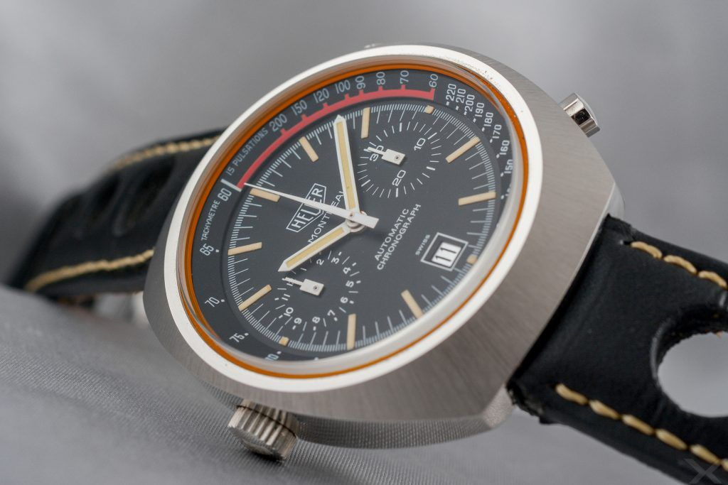 Luxify Review Vintage Heuer Chronograph Montreal Dr. Crott