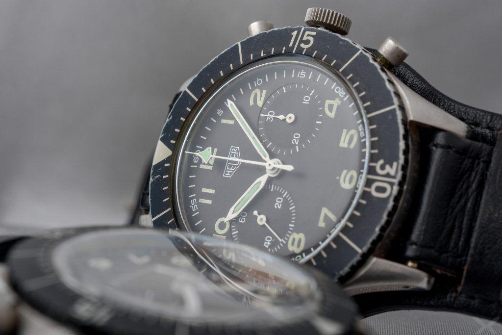 Luxify Review Vintage Heuer Chronograph Bund Dr. Crott