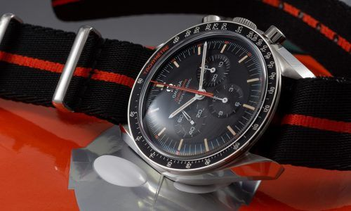 Omega Speedmaster Ultraman - Happy End in Schwarz-Orange