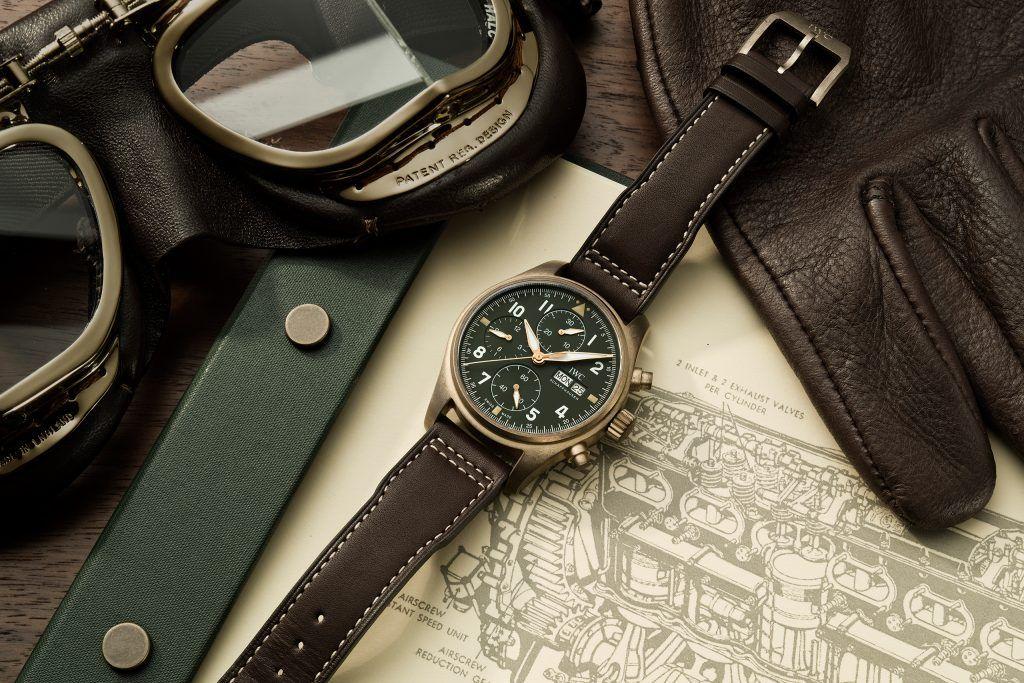 Pre-SIHH Neuheit in Bronze: IWC Pilot's Watch Chronograph Spitfire