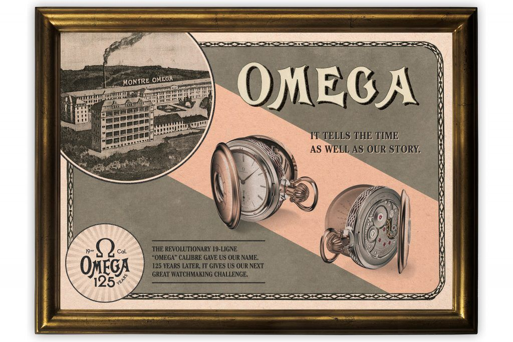 Omega 125 Years Cal. 19 Calibre 321 Luxify Speedmaster Apollo