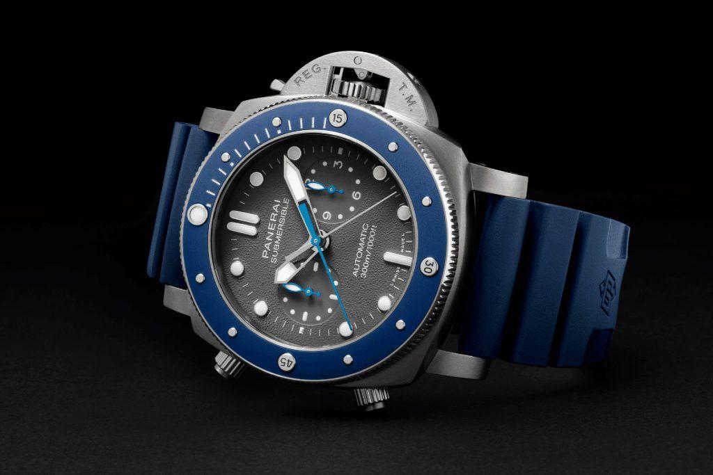 Vorgeschmack auf die neuen Modelle: Panerai Submersible Chrono Guillaume Néry