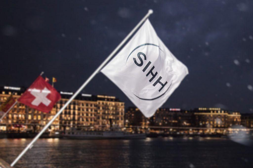 Schneetreiben - zur SIHH Zeit in Genf keine Seltenheit