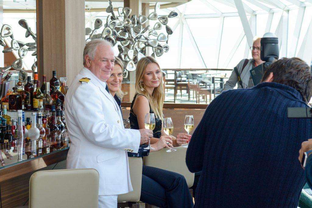 Luxify Review Test Designer-Schiff Mein Schiff 2 Taufe Lissabon